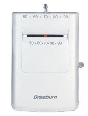 Braeburn 505 24V Wall Thermostat